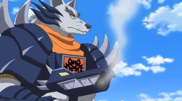 Screen capture of Wolfen from Beast Saga